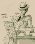 20's gentleman by chacckco