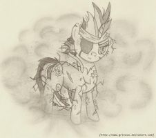 Twiligh Sparkle_Solid Pony by Grivous