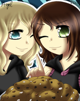 Want a cookie? by AngelShizuka