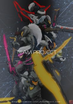 League of Legends - Team Project Title by Crimson-Seal
