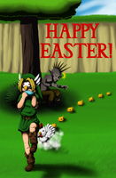 Happy Easter! 2012 by QueenOfCuttlefishes