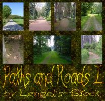 Paths and Roads Pack I by Lengels-Stock