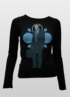 Monkey Suite Ladies Ls Black by jdarko82