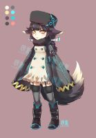 3rd Adoptable Auction: Black Fox (CLOSED) by pluehunter