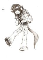 Kai CAT boy by Death-by-Papercuts