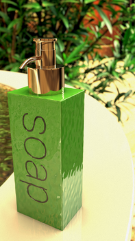 Soap dispenser by tokfrans
