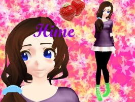 ..:[MMD] Hime 2.7:.. by Hime-Art1