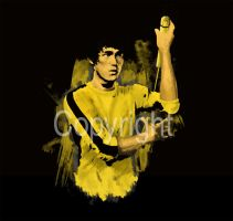 Bruce Lee - Game of Death by beardlale