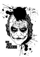 JOKER from THE DARK KNIGHT by kevinandy