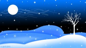 Winter Wallpaper by HypnoticMystery