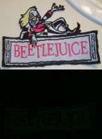 Glowing Beetlejuice Patch by NeitherSparky