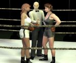 Ladies I want a good clean fight by PaulineG1