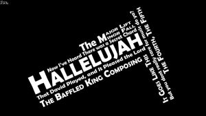 Hallelujah - Typography by Rainz-0412