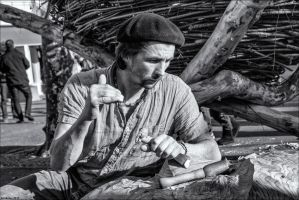 The woodcarver 03 by Markotxe