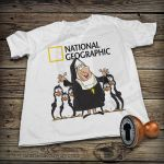 Funny T-shirt - National Geographic by DiegoArragon