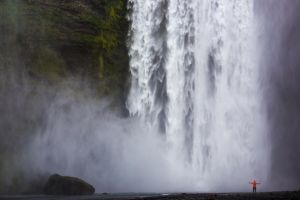 Iceland - Below Skogafoss by CID228