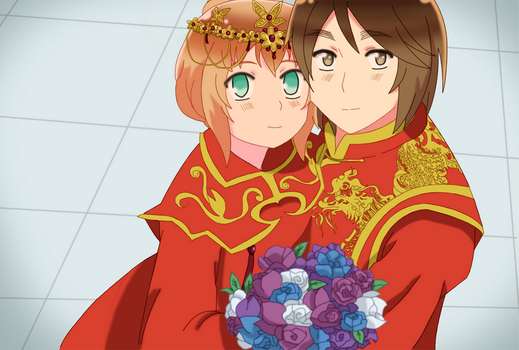 APH - Hongliech wedding by EvilCoco95