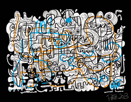 Squiggly Line by monkeys-in-my-head