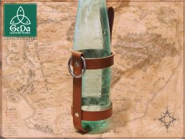 Leather Bottle Holder 3 by GeDaLeather