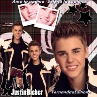 Blend Justin Bieber by FernandaaEditions