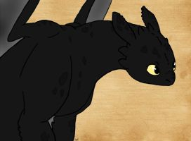 Toothless by foxyladyqc