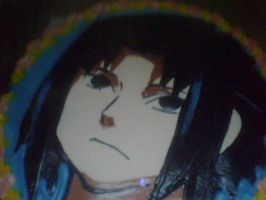 My Sasuke Cake by jade-and-onyx