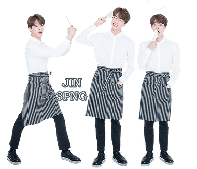 BTS Jin PNG Pack {Real Family Picture} by kamjong-kai