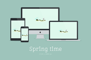 Spring Time Wallpaper - 5K by dpcdpc11