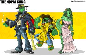 The Nopal Gang by Esqueleto