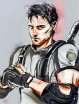 Chris Redfield by whispers-Dai