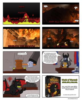 WoW Comic- Cataclysm cinematic by Baltarouzz