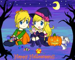 Happy Halloween!! by acua-chan