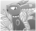 Umbreon Comic Style by wingedwolf94