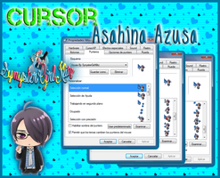Cursor Animado Azusa ( Brothers Conflict ) by SynysterGirlKltz