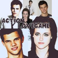 LOVEGAME ACTION by eddycullenswanblack