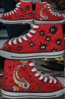 Handpainted Shoes by Memorial-of-darkness