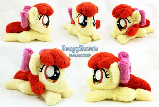 Mini 5.5in Apple Bloom ~ BronyCon Stock 2016 by TheHarley