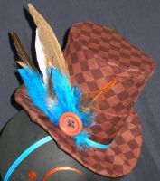 Harlequin Top Hat by XXXavia