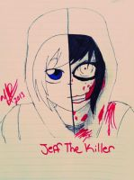 Jeff The Killer .:Sides:. by Helen-RubiTH