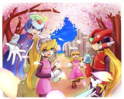 Megaman Zero: Welcome Back~ by Evangelinne