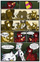 Ink Rose Birthday Comic Page 2 by Xain-Russell