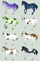 Equine adoptables number.. unknown. by ShadiSin