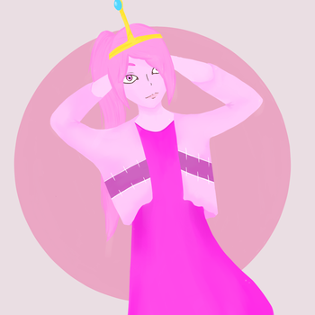 Princess Bubblegum by BVBlism
