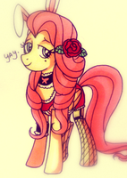 UH.. just drawin fluttershy by tuna-saur