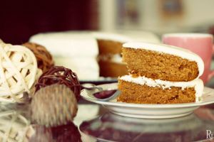 Pumpkin Spice Cake by RebecaJuditDESIGNS