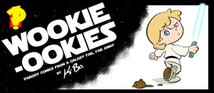 Wookie-Ookies Front Cover by kevinbolk