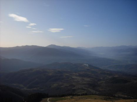 view from the mountain by lexizwick
