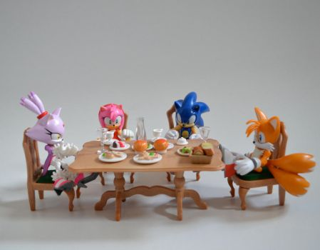 HAVING A MEAL by PUFFINSTUDIOS