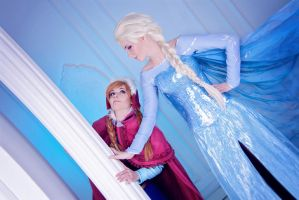 Frozen - Elsa!...I mean, Your Majesty by FirehawkCosplay