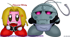 Kirbies - Elric Brothers by BlazingGanondorf